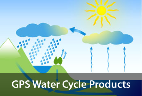 GPS Water Cycle Products